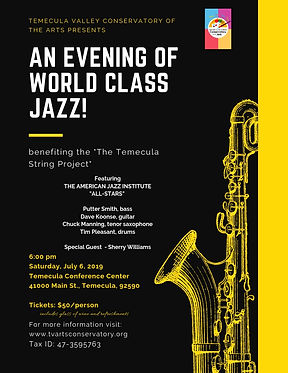 Temecula Valley conservatory of the arts