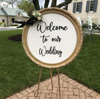 Welcome to my wedding sign