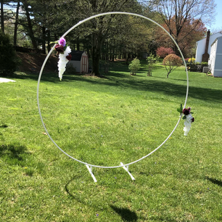 Circle backdrop