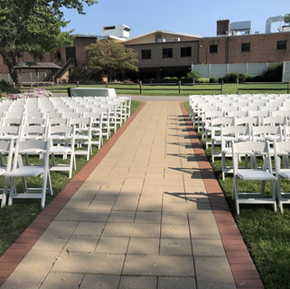 White Risen chairs