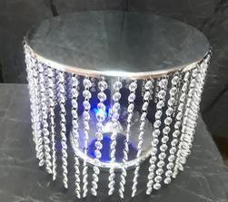 "15.5"" Silver cake/cupcake stand"