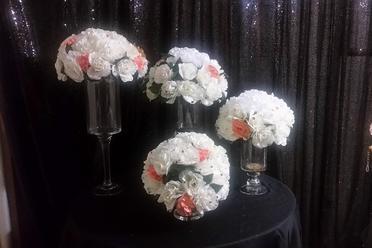 Silks Table floral arrangements 10 available