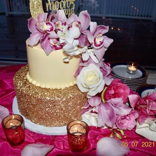 Cake floral design
