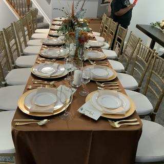 Gold Chiavarri Chairs