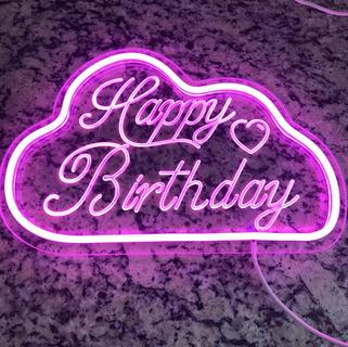 Pink Neon birthday light