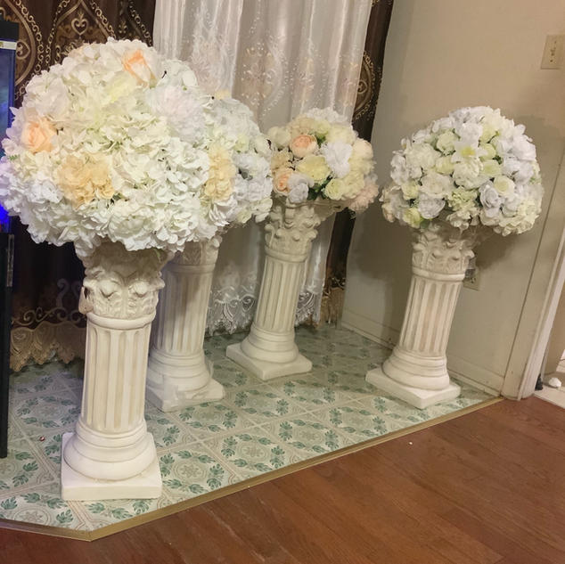Large silk arrangement