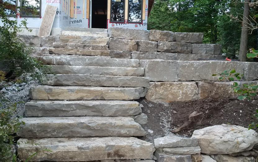 Armour Stone Steps
