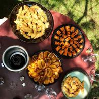 Privatisation BBQ / soyas grillés, missolés tapé-tapé et frites d'avocats