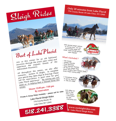Lake Placid Sleigh Rides