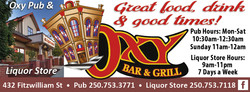 The Oxy Bar & Grill