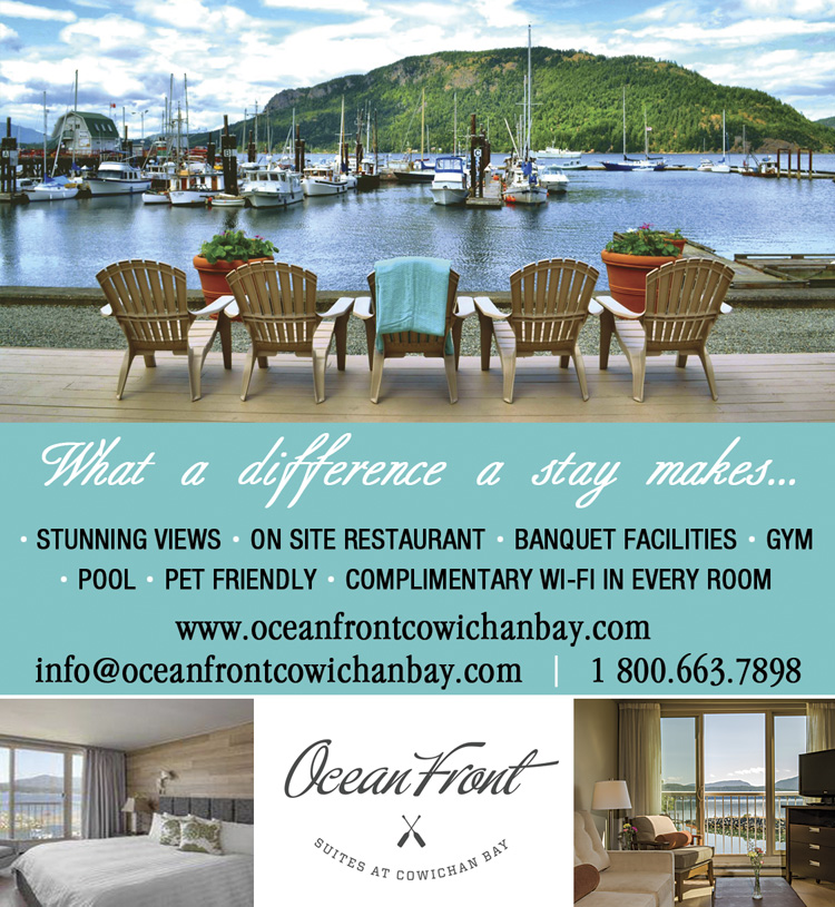 Ocean Front Suites at Cowichan Bay