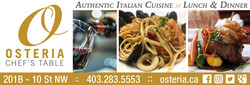 Osteria Chefs Table