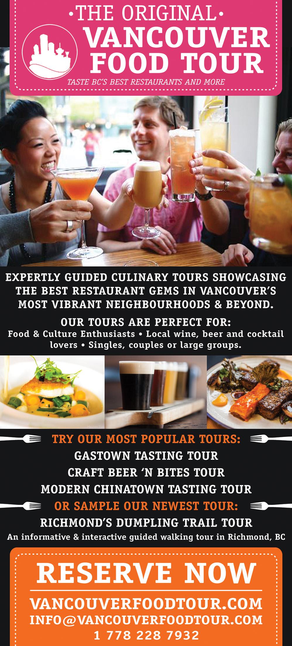 The Original Vancouver Food Tour