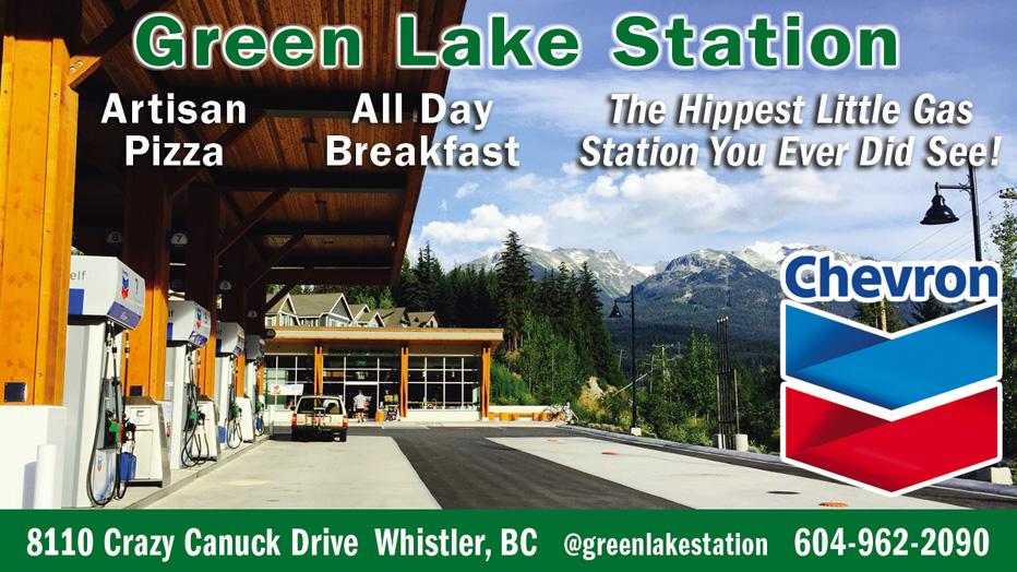 Green Lake Station Whistler Chevron
