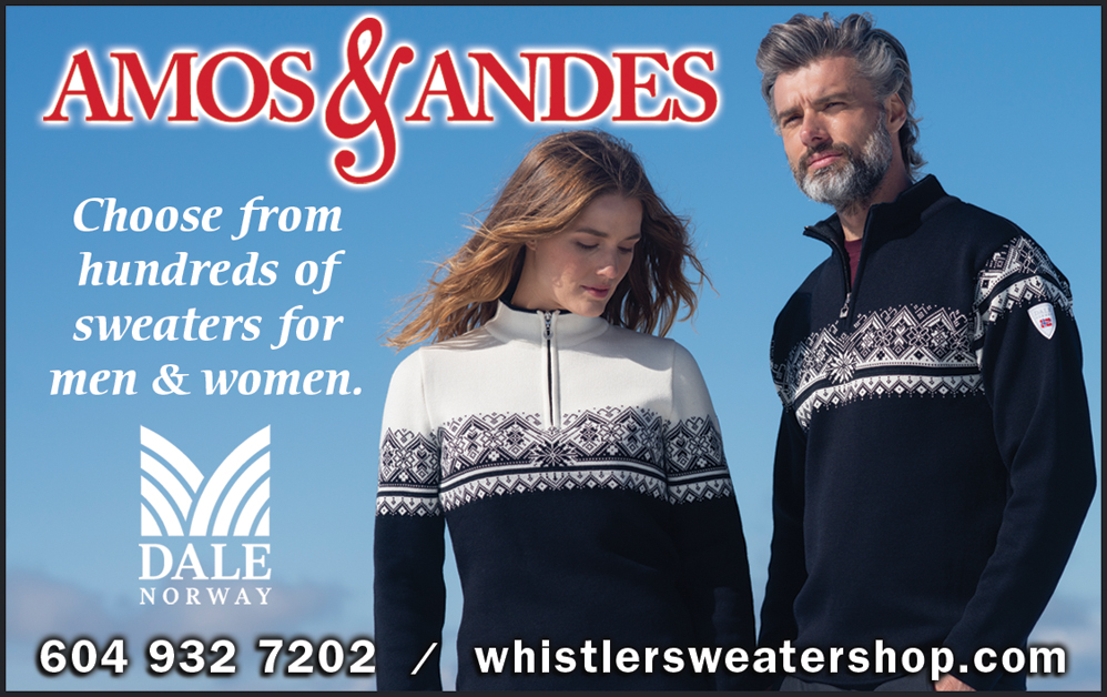 Whistler Sweater Shop (Amos & Andes)
