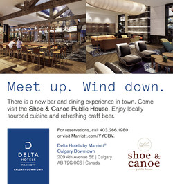 Shoe & Canoe at the Delta Downtown