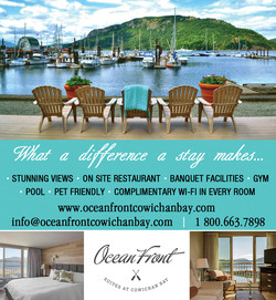 Ocean Front Suites at Cowichan Bay
