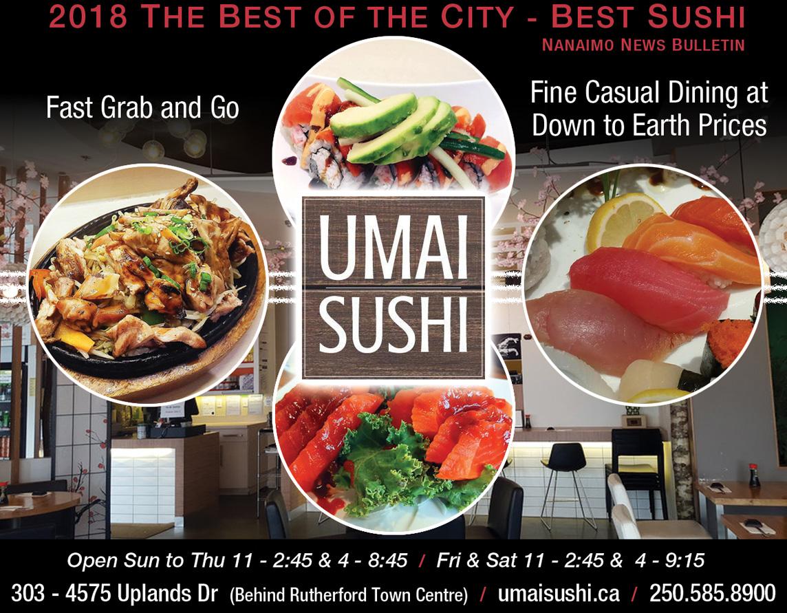 Umai Sushi Ad 2019