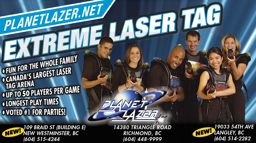 Planet Lazer Extreme Laser Tag