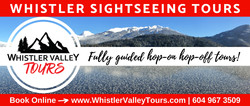 Whistler Valley Sightseeing Tours