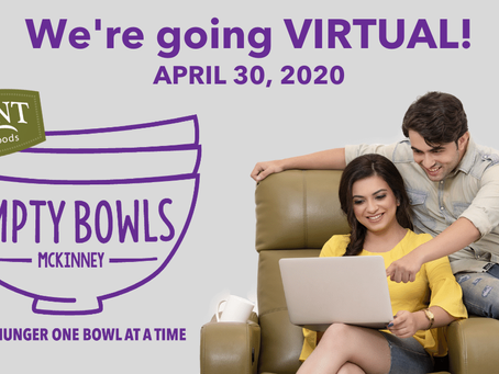 We're going VIRTUAL!