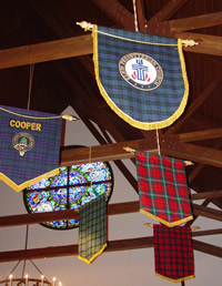 26 CLERGY BANNER - SOCIAL HALL CEILING_sm