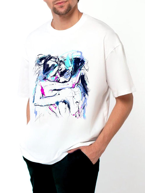 T-shirt with personal design