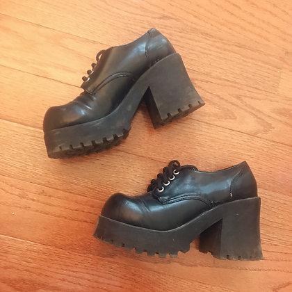 Off-brand - Platform Shoes - Black
