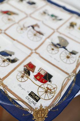 Celine - Carriage Cotton Handkerchief