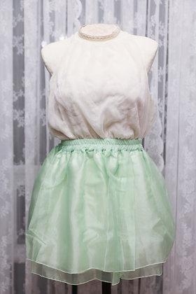 Miss Point - Summer Mini Skirt - Green