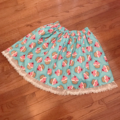 Atelier Yan - Sweet Cupcake Skirt - Blue