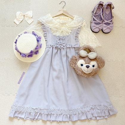 Innocent World - Square Neck Babydoll JSK - Lavender