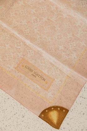 Louis Vuitton - Monogram Denim Cotton Shawl