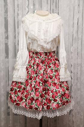 Atelier Yan - Garden Rose Skirt - White