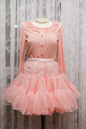 Classical Puppets - A-Line Petticoat I - Bright Pink