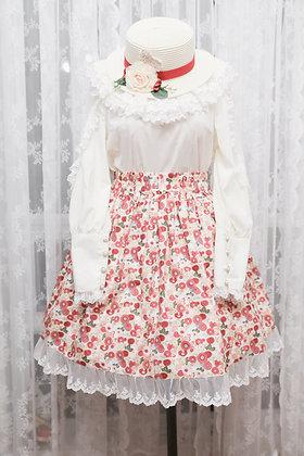 Atelier Yan - Chrysanthemum Garden Skirt - Ivory