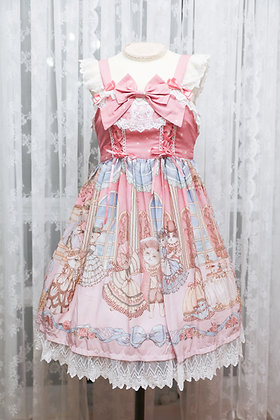 Diamond Honey - Royal Cat's Dance JSK - Pink