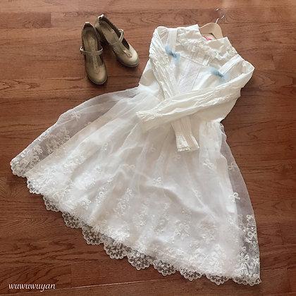 Off-brand Handmade - Lace Ballet JSK - White