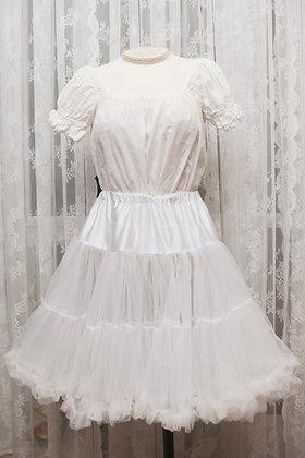 Hell Bunny - Polly Petticoat - White