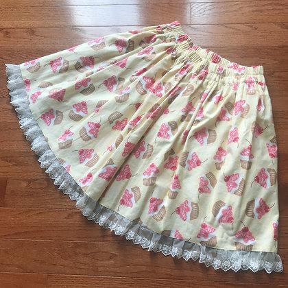 Atelier Yan - Sweet Cupcake Skirt - Yellow