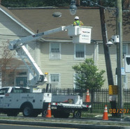 Installation of fixtures at NB MLK & Randle St, SE.