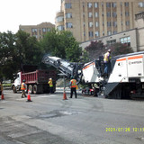 Milling at  16th St between Newton St to Pine St NW.
