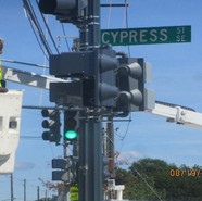 Activation of Traffic signal at the MLK & Cypress St, SE