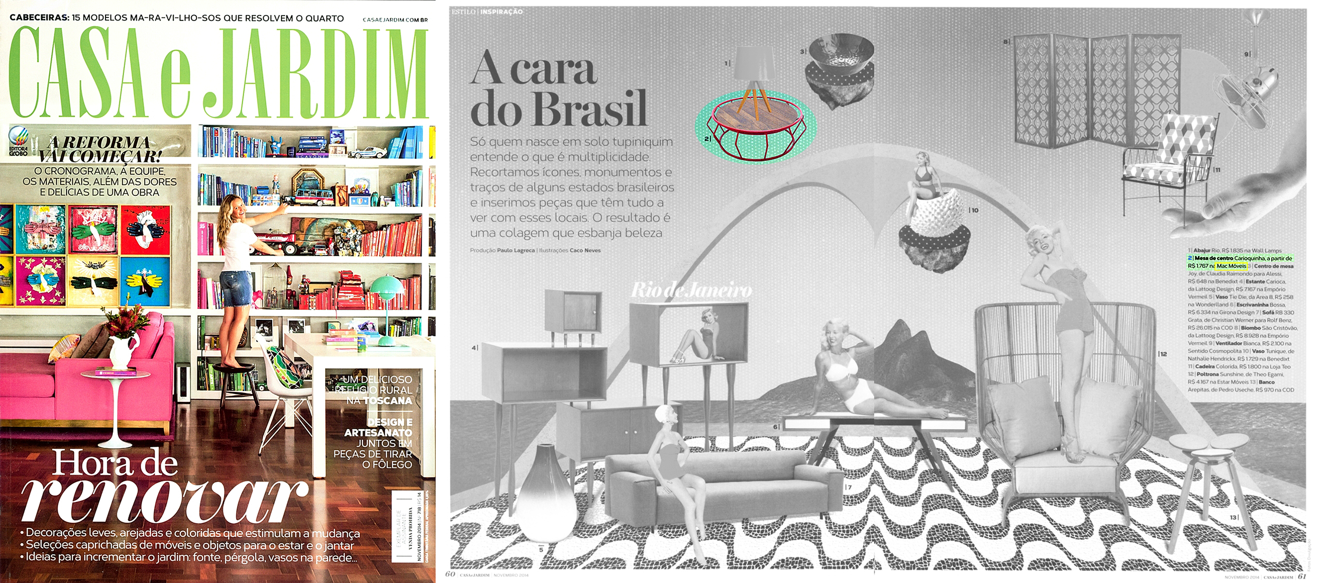Casa e Jardim nº 718 - November 2014