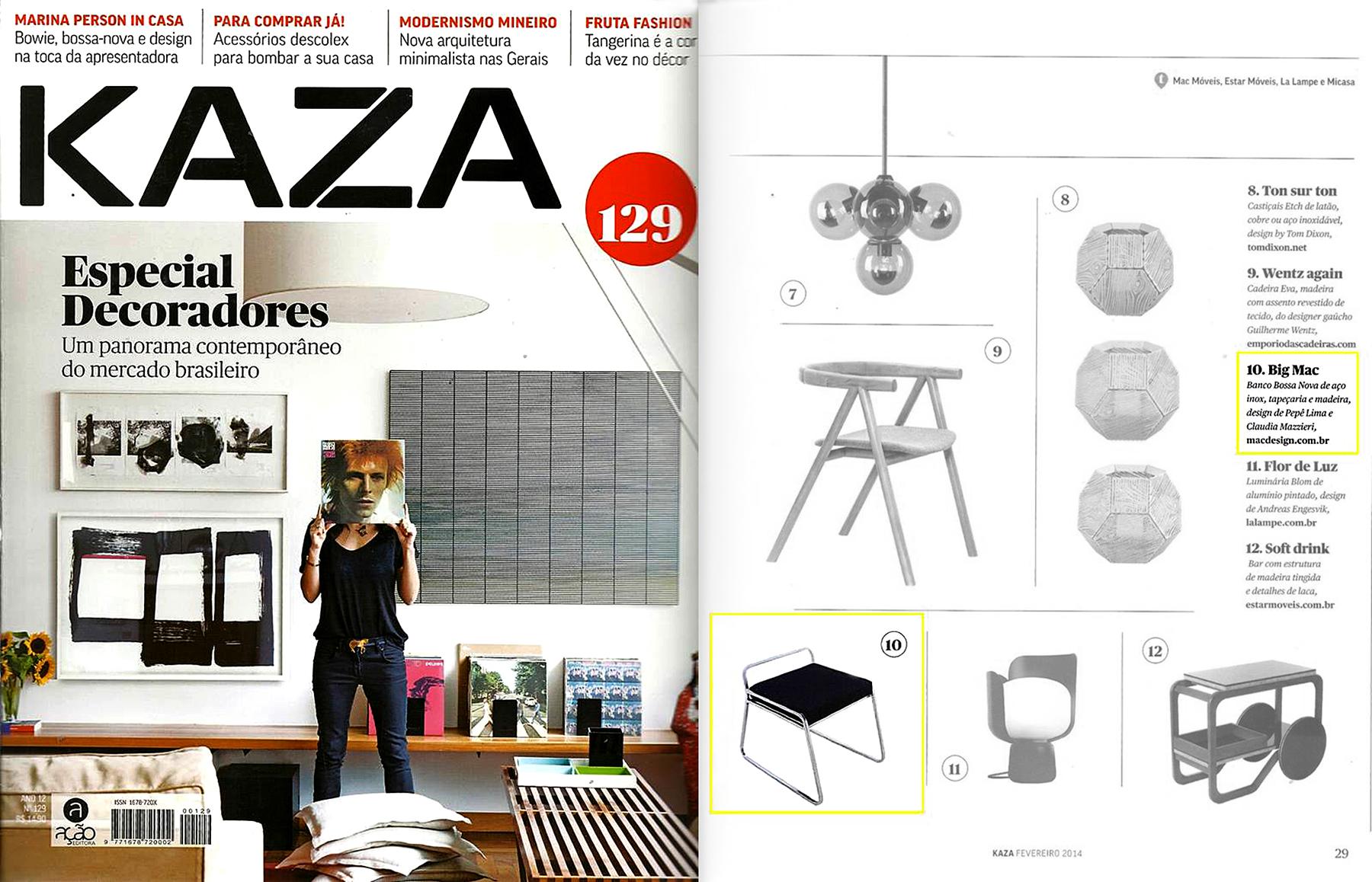 KAZA nº 129 - January 2014
