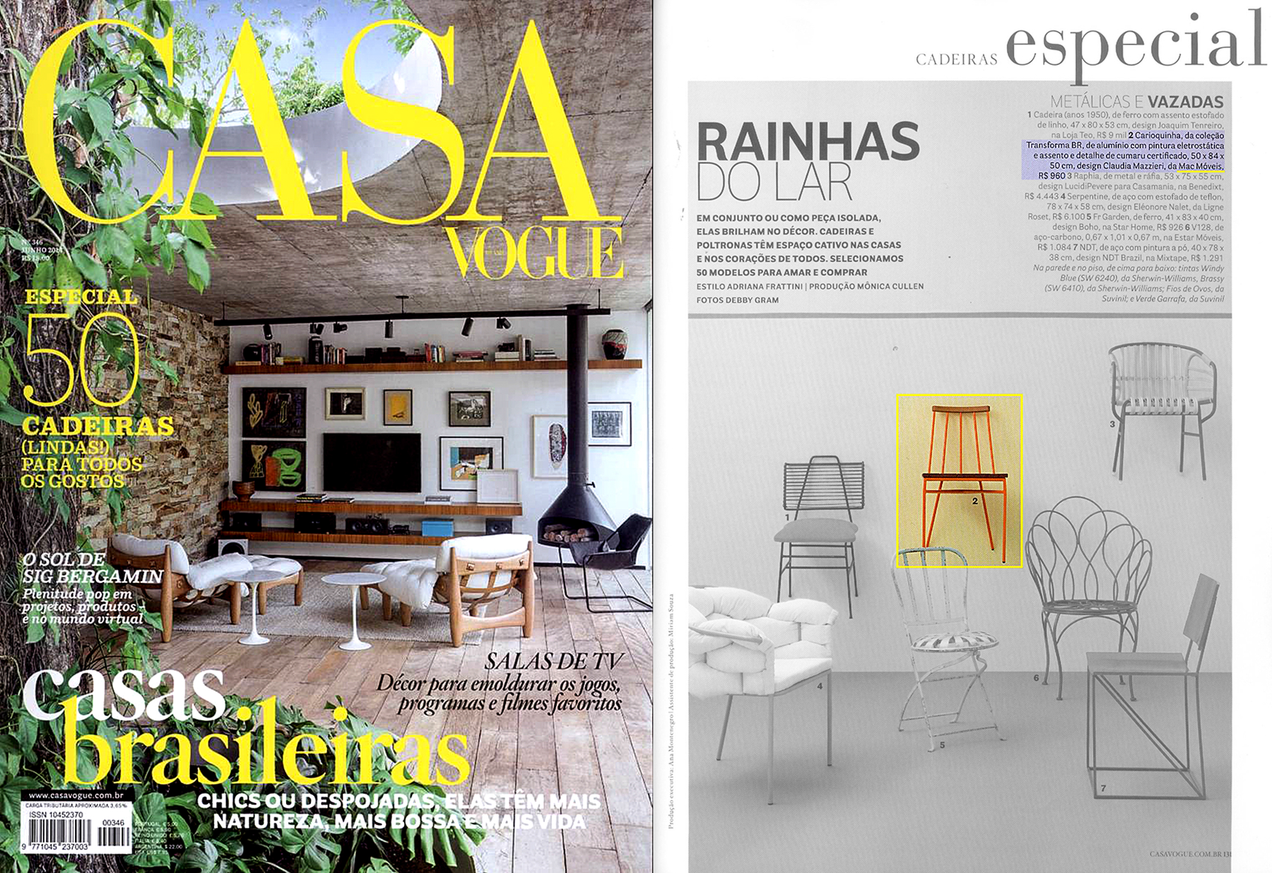 Casa Vogue nº 346 - June 2014