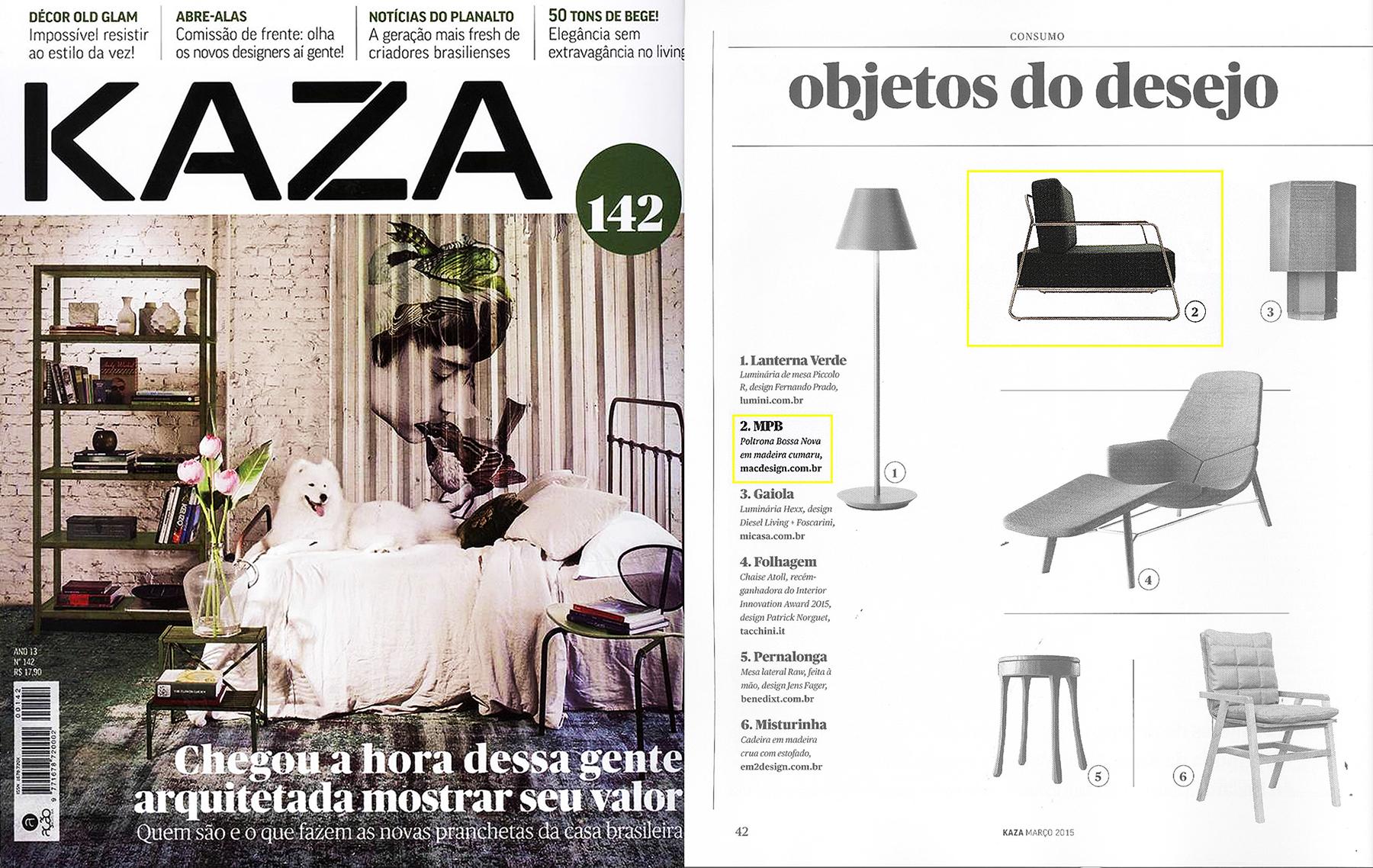 KAZA nº 142 - March 2015