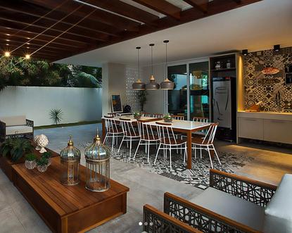Progetto condominio residenziale Vila Real - Terrazzo Gourmet