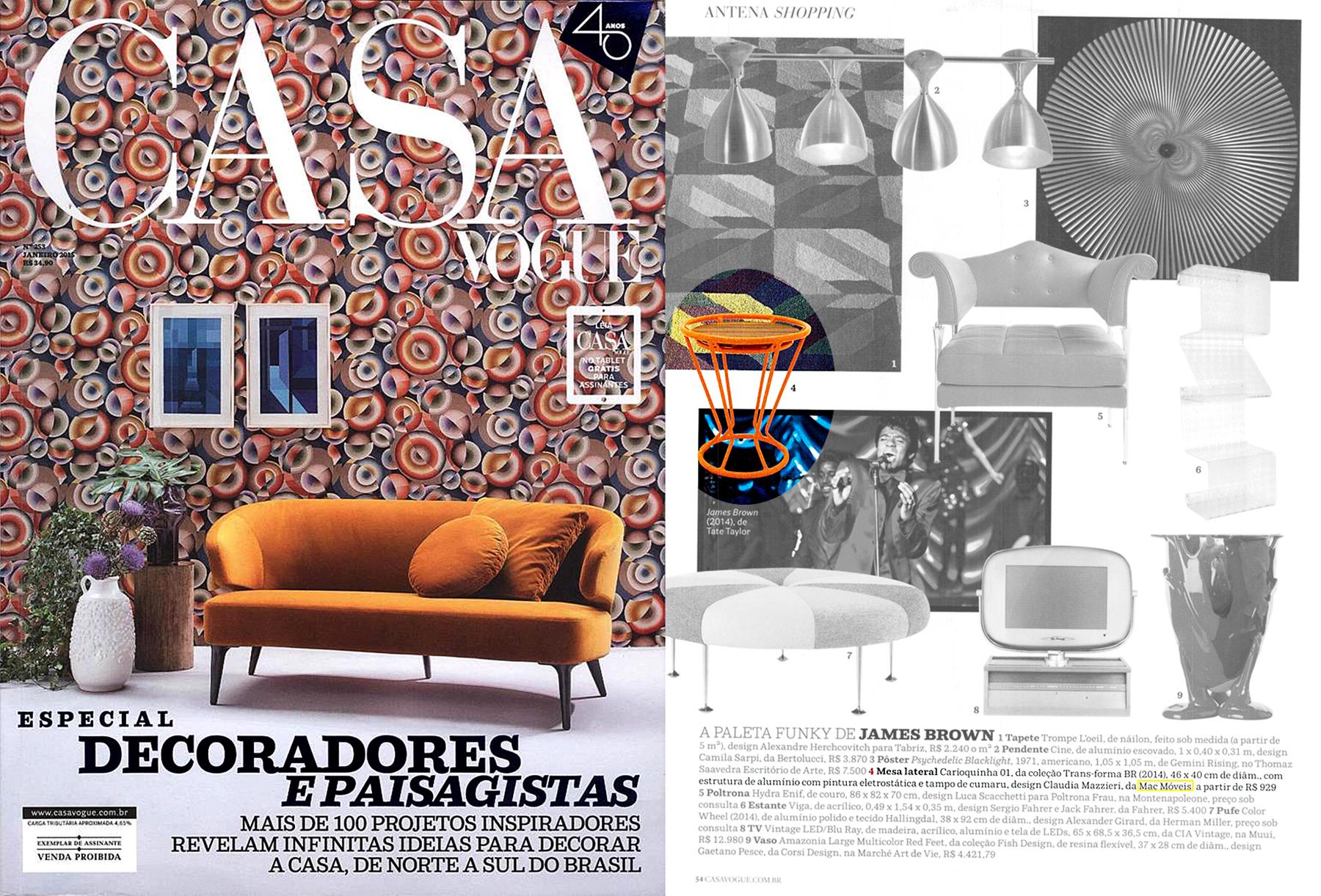 Casa Vogue nº 353 - January 2015