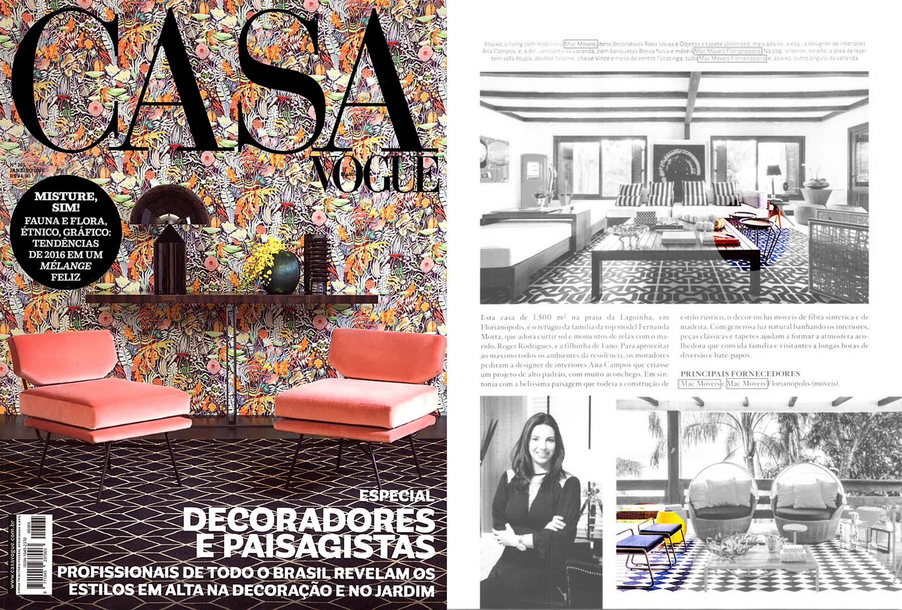 Casa Vogue nº 365 - January 2016